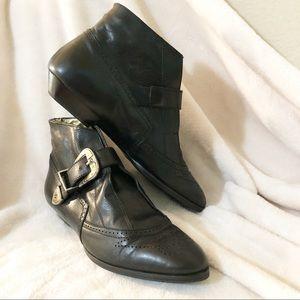 Custom | Michael Mango | Vintage bootie w/ buckle